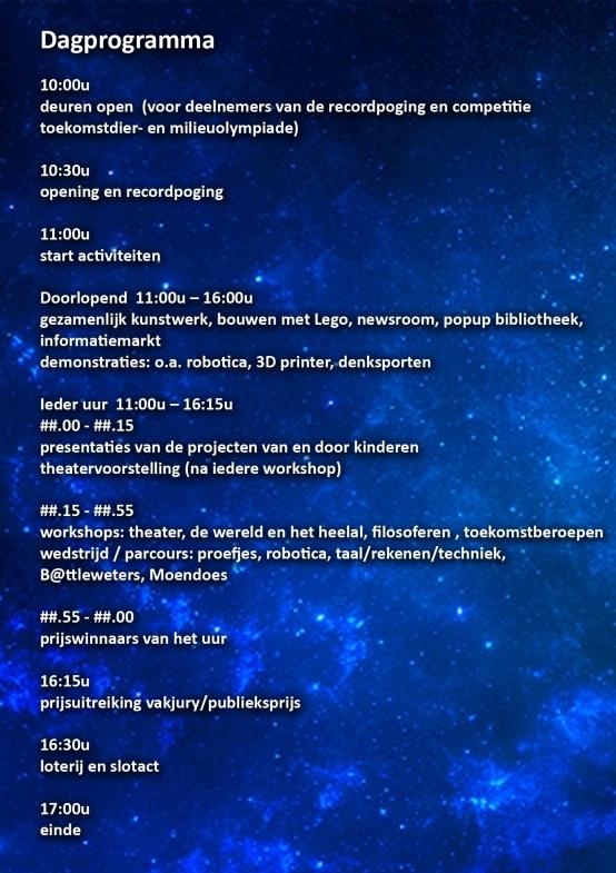dagprogramma bsf 2014