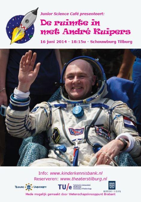 16 juni om 18.15 André Kuipers
