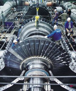 stoomturbine Siemens Pressebild