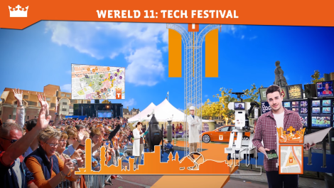 Koningsdag Tilburg - Tilburg Unviversity Junior op Wereld 11 Tech Festival