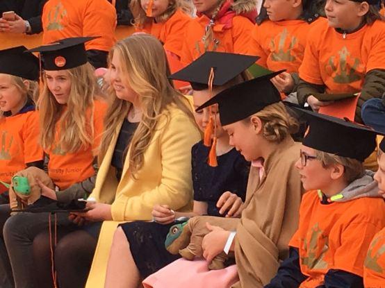 Prinsesjes Amalia, Ariane en Alexia Tilburg University Junior 1
